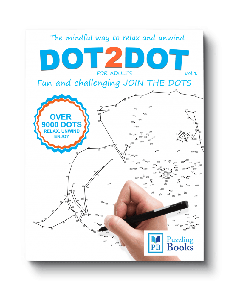 Dot to Dot Books For Adults Volume 1