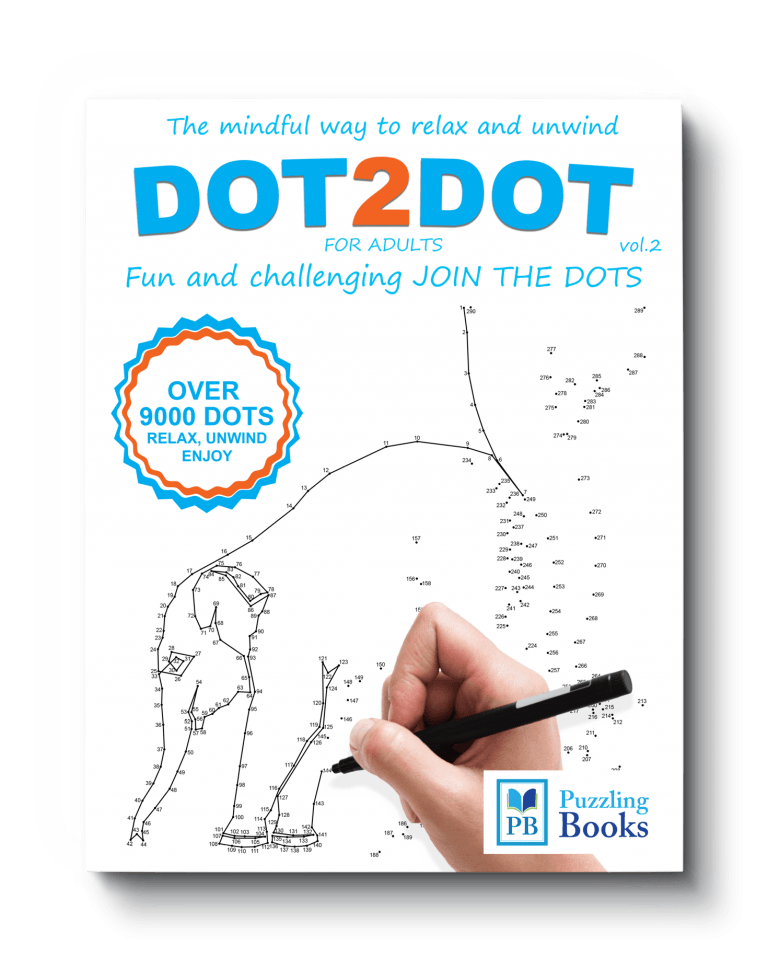 Dot to Dot Books For Adults Volume 2