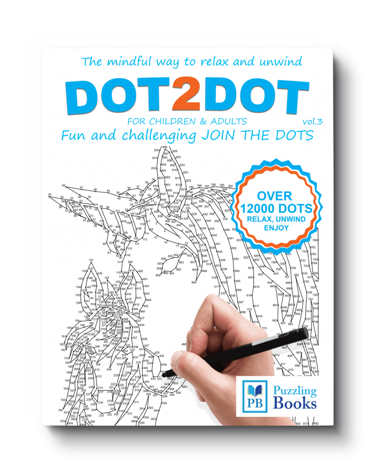 Dot to Dot Book for Adults Volume 3