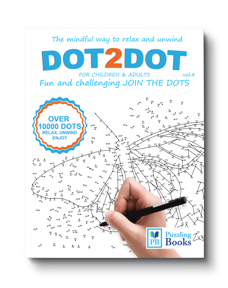 Dot to Dot Book for Adults Volume 4